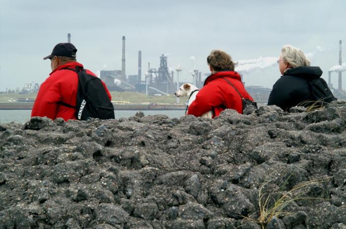 Uitzicht in IJmuiden