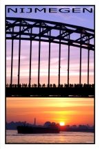 Nijmegen (poster) Info: www.ronaldpuma.nl