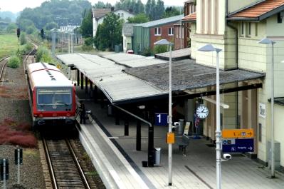 Treinstation Kleve (Duitsland, 2006)