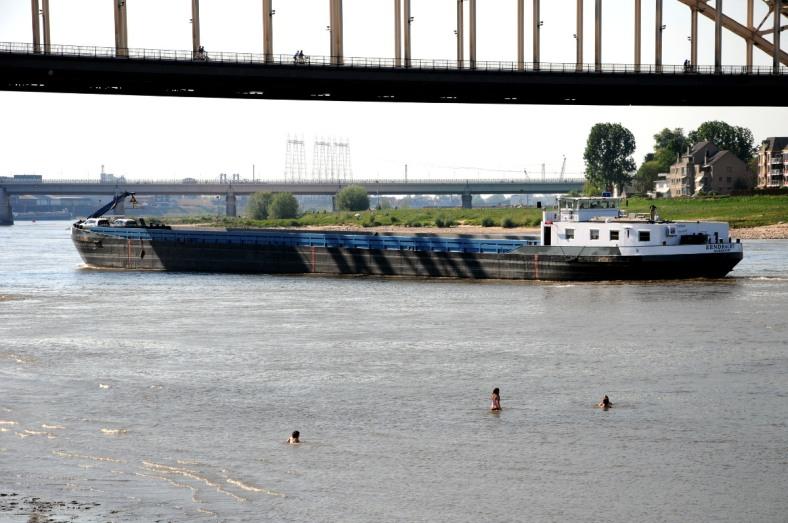 Zwemmen in de Waal Nijmegen (C) Ronald Puma PIC_0054.1200