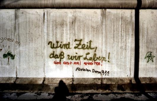 Opschrift op de Muur, de beruchte werkeloosheid van de jaren '80.