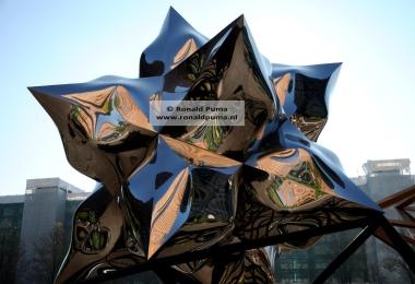 Kunstwerk van Frank Stella.