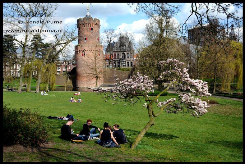Kronenburgerpark Nijmegen voorjaar (C) Ronald Puma