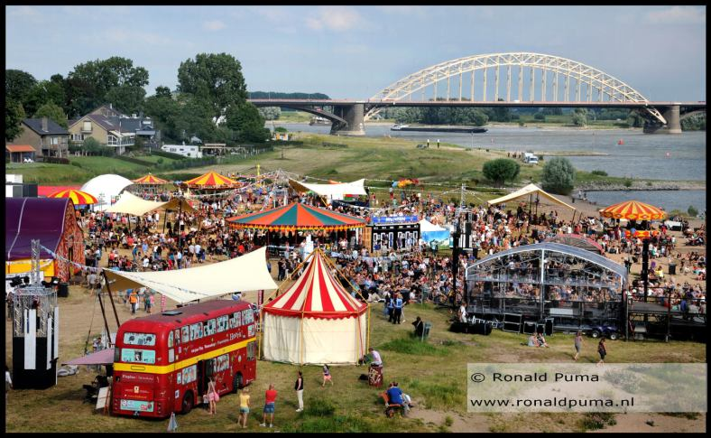 Festival op t Eiland Vierdaagse 2016 Nijmegen (C) Ronald Puma 01