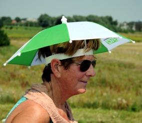 Handige parapluutje.