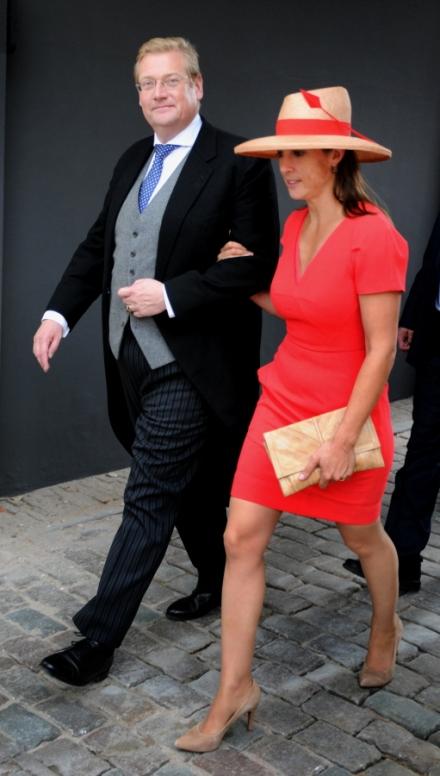 Minister van Justitie Van der Steur en echtgenote. © Ronald Puma