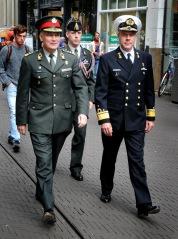 De militaire top van Nederland. © Ronald Puma