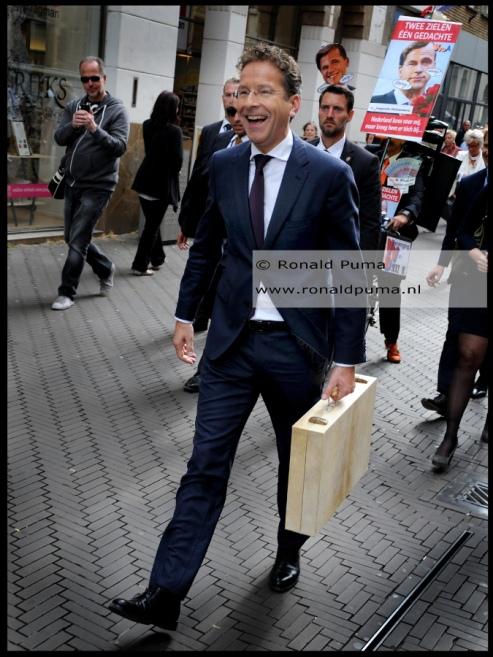 Minister van Financiën Dijsselbloem. © Ronald Puma