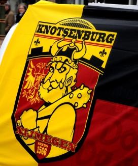 Nijmegen heet tijdens carnaval Knotsenburg.