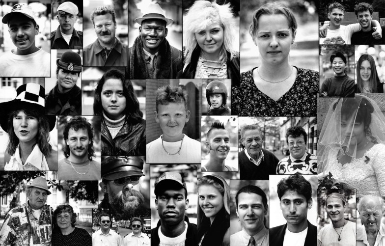 Portretten uit de multiculturele samenleving in 1994.