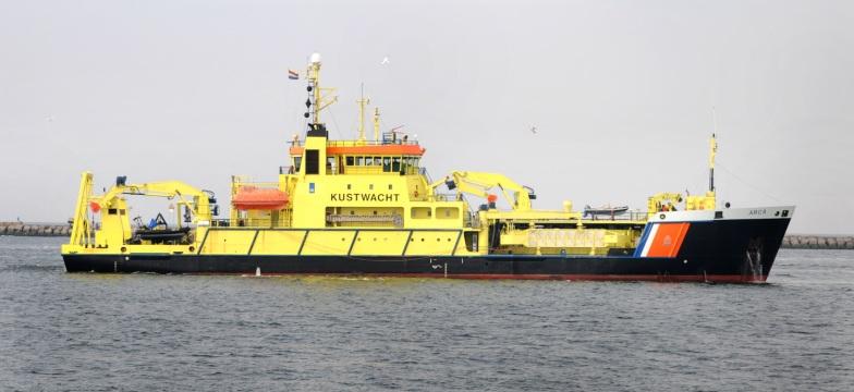Schip van de kustwacht.