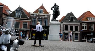 Standbeeld Jan Pieterszoon Coen.