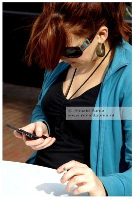 Archieffoto: mobieltje in 2007.