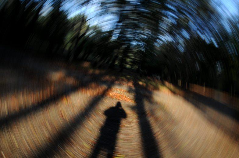 Selfie in the woods.