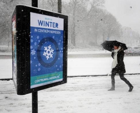 Winter in Nijmegen.