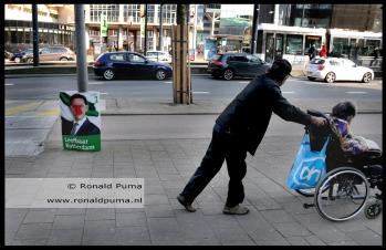 Gemeenteraadsverkiezingen in maart, Coolsingel.