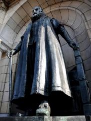 Johan van Oldenbarnevelt (1547-1619). Politicus in Nederland, hij werd op het Binnenhof onthoofd.