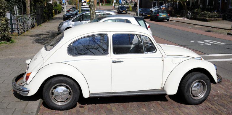 De bekende VW Kever. Ik heb er lang geleden een gehad en het was een prima auto.