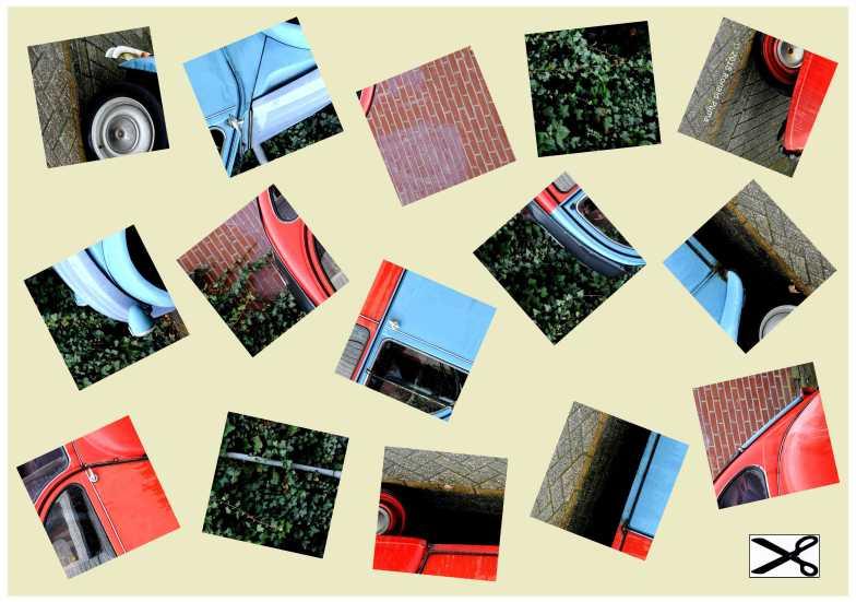 Bekijk op volledige grootte, klik nog een maal voor de maximale grootte en klik met de rechtermuisknop, en kies vervolgens op opslaan als JPEG. Druk af op A4 formaat. Leg vervolgens de puzzel.