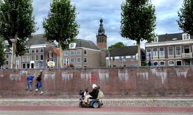 Waalkade Nijmegen.