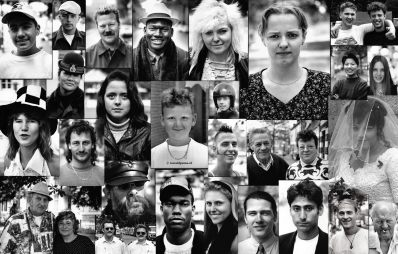 Portretten gemaakt in 1994.