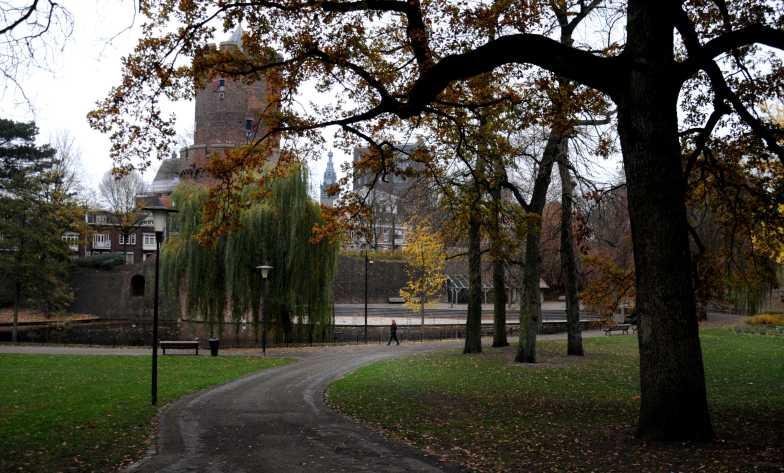 Kronenburgerpark Nijmegen.