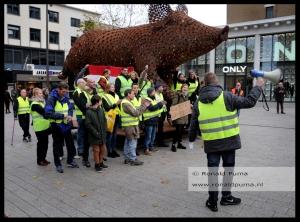 Demonstratie Gele Hesjes.