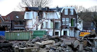 Huizenblok waar ik 30 jaar geleden woonde moet plaats maken voor nieuwbouw.