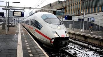De trein naar Duitsland. (C) Ronald Puma.