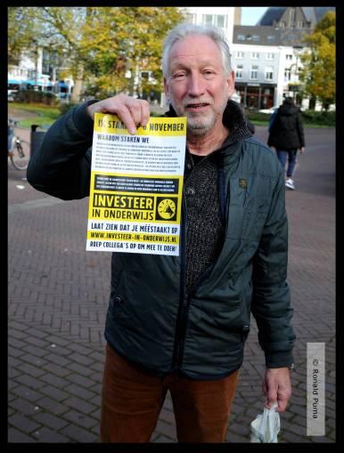 Onderwijsstaking 06.11.2019 Arnhem (C) Ronald Puma 06