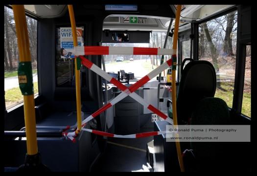 Bescherming buschauffeur.