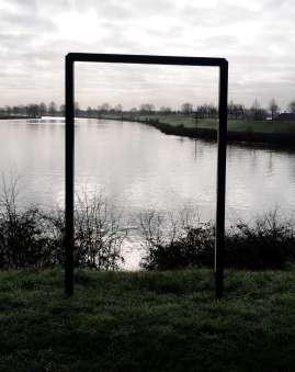 De Maas bij Heumen ten zuiden van Nijmegen.