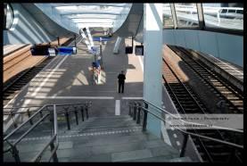 Leeg station Arnhem Centraal.
