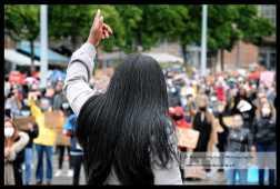 BlackLivesMatter demonstratie Arnhem 04.06.2020 (C) Ronald Puma 03